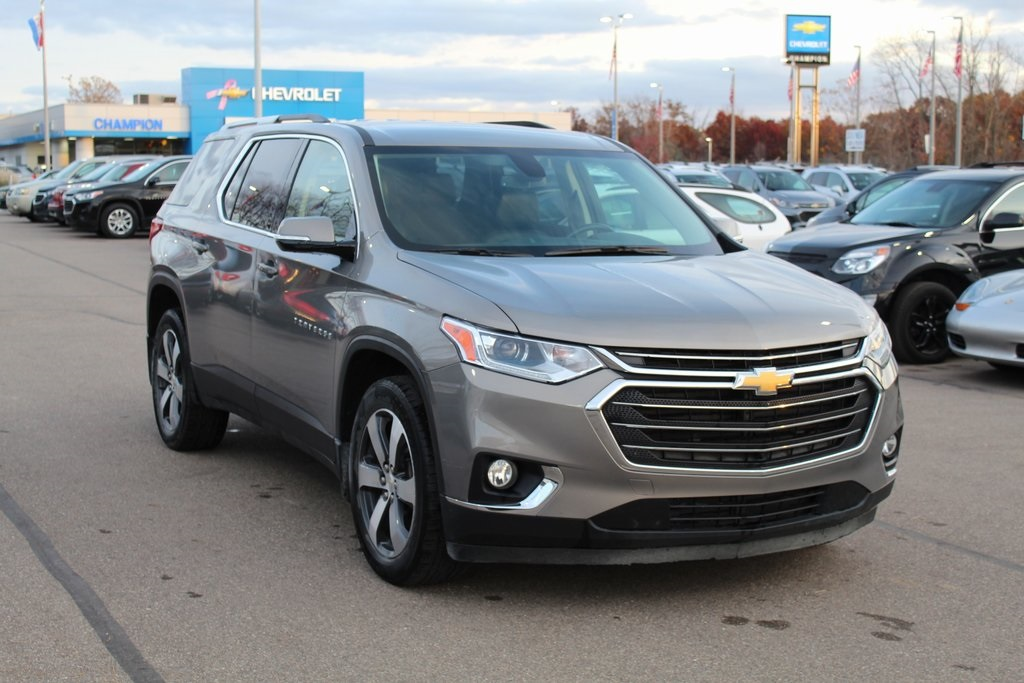 Certified Pre-Owned 2018 Chevrolet Traverse LT Leather Leather