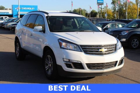 Certified Pre-Owned 2017 Chevrolet Traverse 2LT